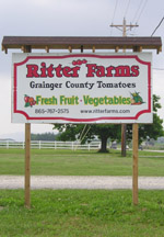 Ritter Farms Sign